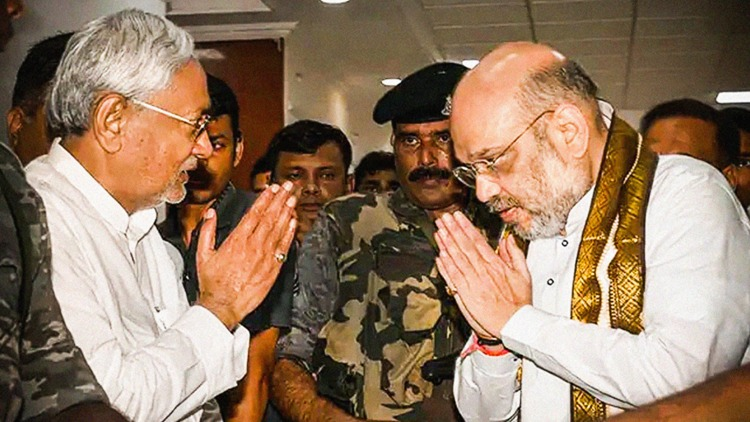 will Nitish's conscience awaken by BJP's 'betrayal
