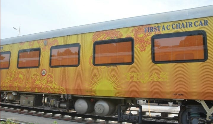 Loss break on Tejas pace, first private train stop