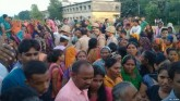 Tension after Dalit Pradhan's murder in Azamgarh,