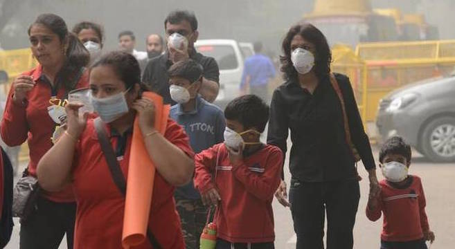 Air Pollution triggers Health Issues In Delhi-NCR