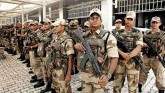 Number of vacant posts in Central Armed Police For