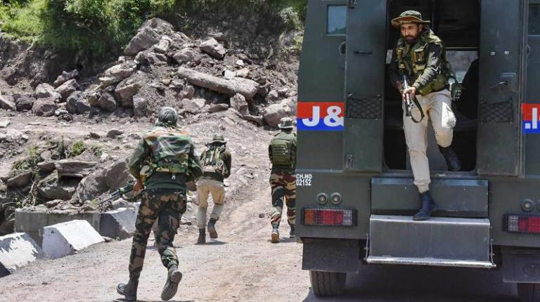 Two Jammu and Kashmir police personnel killed in t