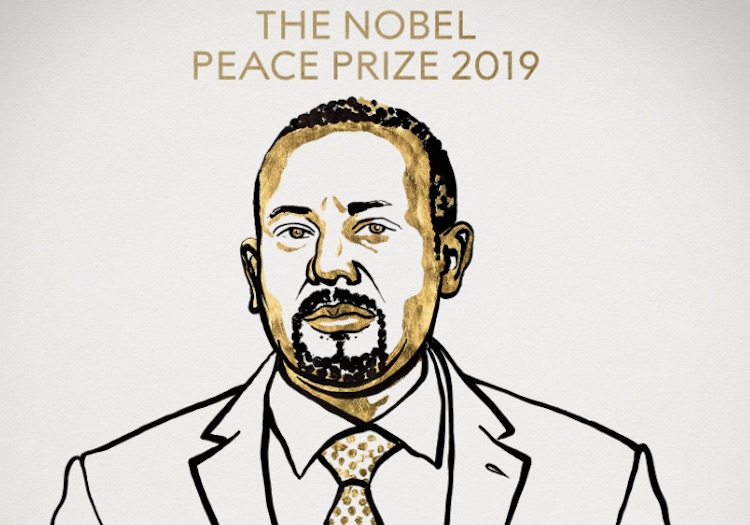 The 2019 Nobel Peace Prize will be given to Ethiop