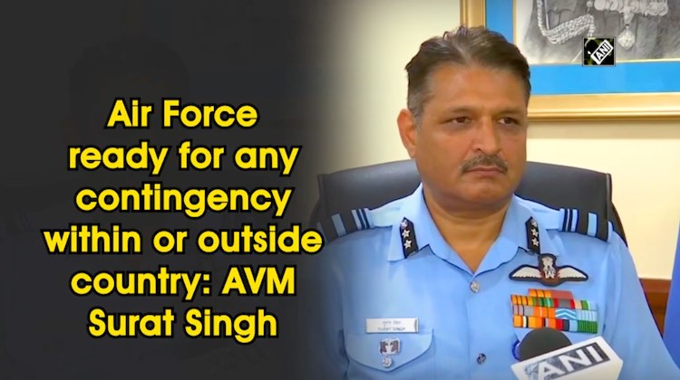Indian Air Force Ready To Tackle Any Contingency