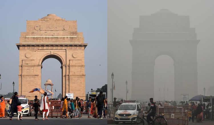 1.16 lakh newborn deaths due to air pollution in I