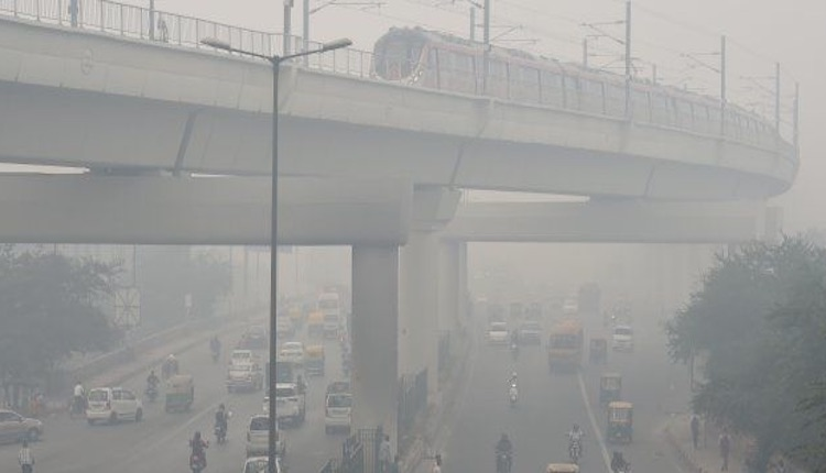 AIR QUALITY IN 'VERY POOR' ZONE
