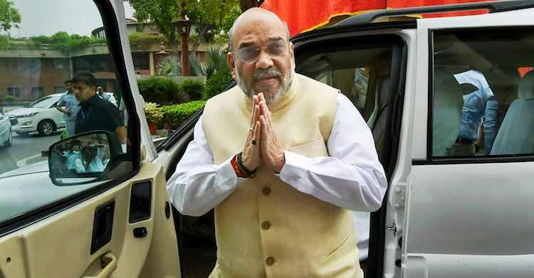 Amit Shah met the leaders of the valley