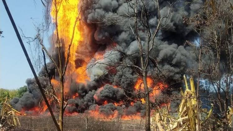 Assam Oil Well Fire: 2 Killed, Several Injured As