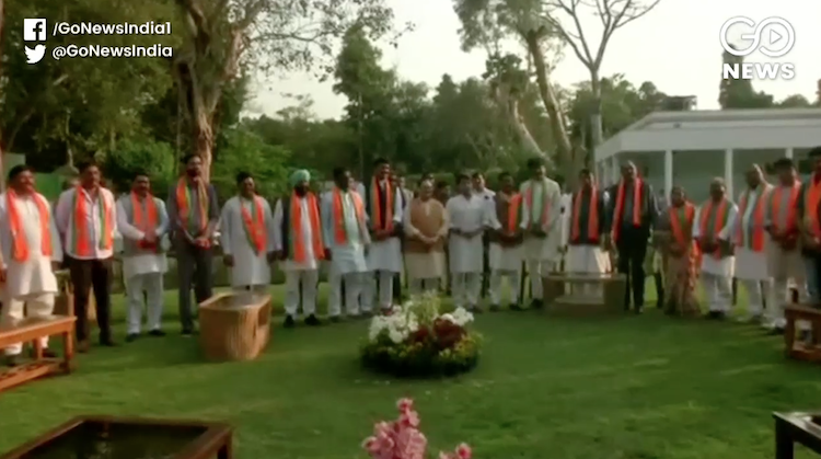 All rebel former MLAs of MP Congress join BJP