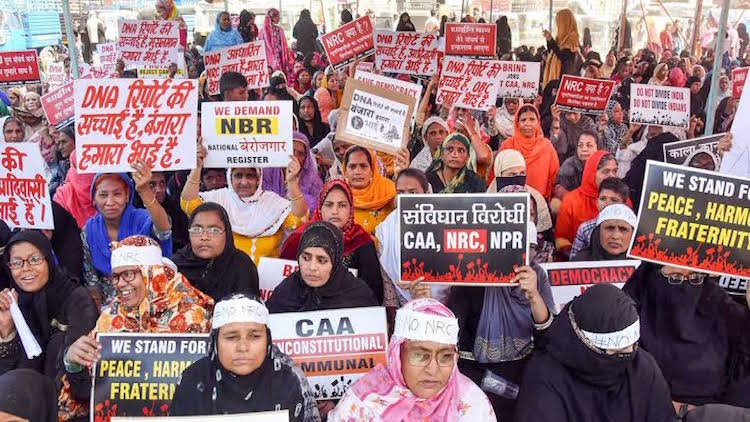 Day 51: Anti-CAA Protest At Shaheen Bagh