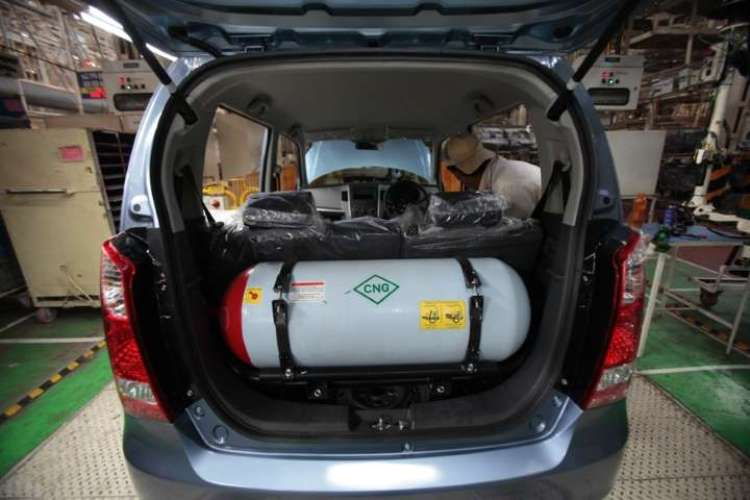 Demand for CNG vehicles increased due to costlier