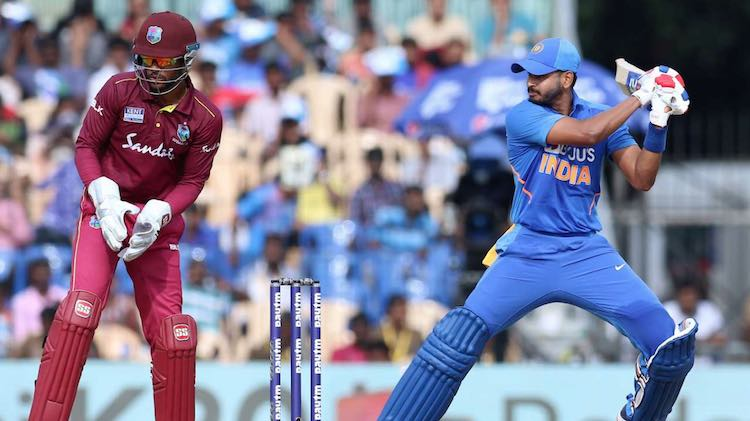 2nd ODI: INDIA BEAT WEST INDIES BY 107 RUNS