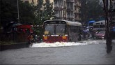 Heavy Rain, Flooding In Mumbai, Local Trains Stopp