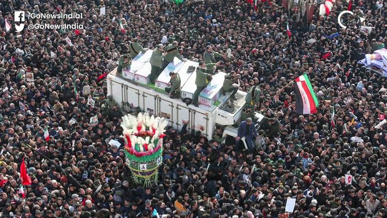 At Least 35 Dead In Stampede At Soleimani Funeral