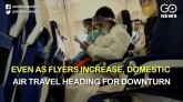 Domestic air travel forecast to fall by 46 per cen