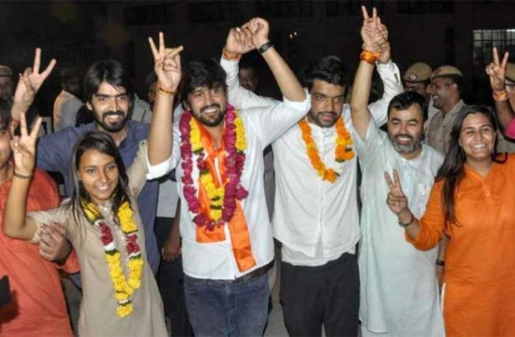 ABVP waved once again in DU student union election