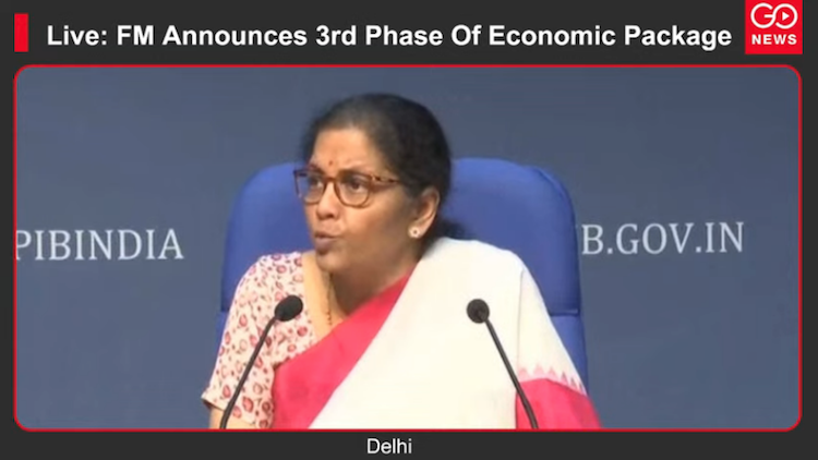 Live: FM Announces 3rd Phase Of Economic Package