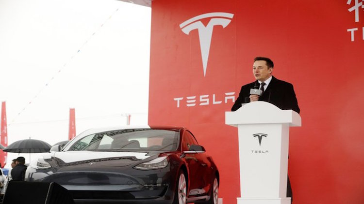 First China-Built Teslas Roll Out Of Shanghai Plan