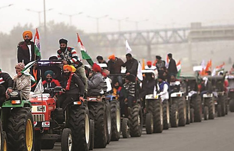 'Kisan republic parade' to pass out from nine plac