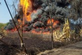 The fire in Tinsukia oil field is still blazing