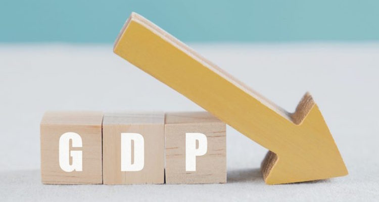 For the first time, the size of the country's GDP
