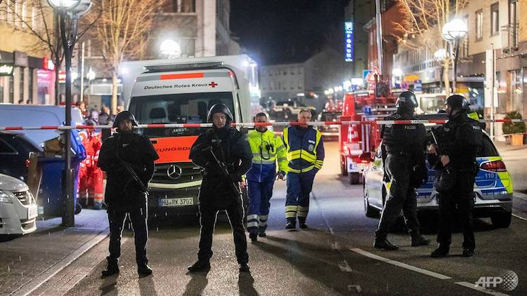 Eight Killed In Attack On Shisha Bars In Germany's