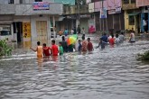Record 10 inches of rain in Saurashtra of Gujarat,
