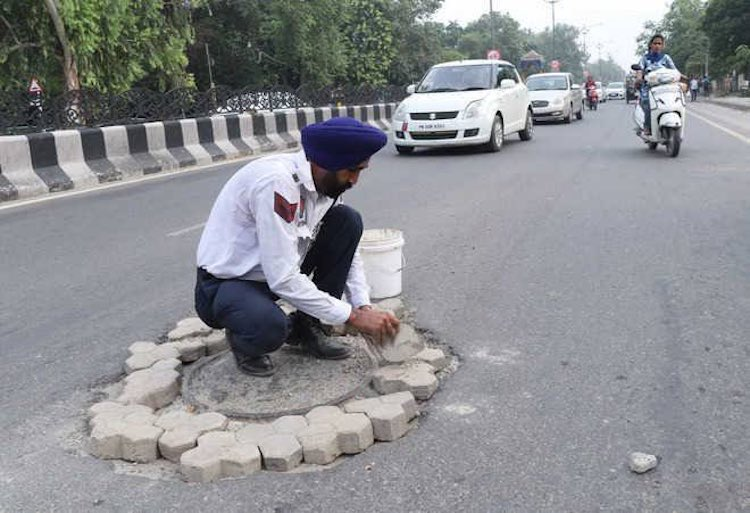 Punjab Police personnel are doing the work of fill