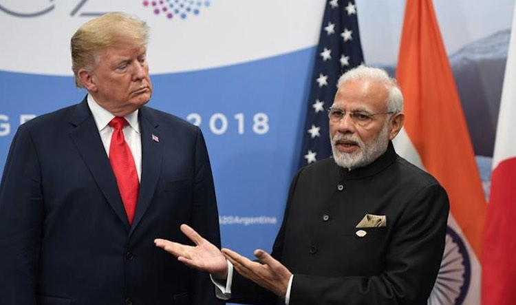 Trump angry before tour to India, postpone busines