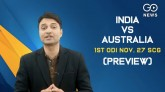 India vs Australia, First ODI Statistical Preview