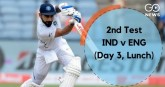 Second test, third day: India's position strong