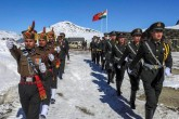 Chinese troops maintain presence in Pangong Tso la