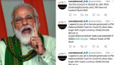 Twitter account of PM Modi's personal website hack