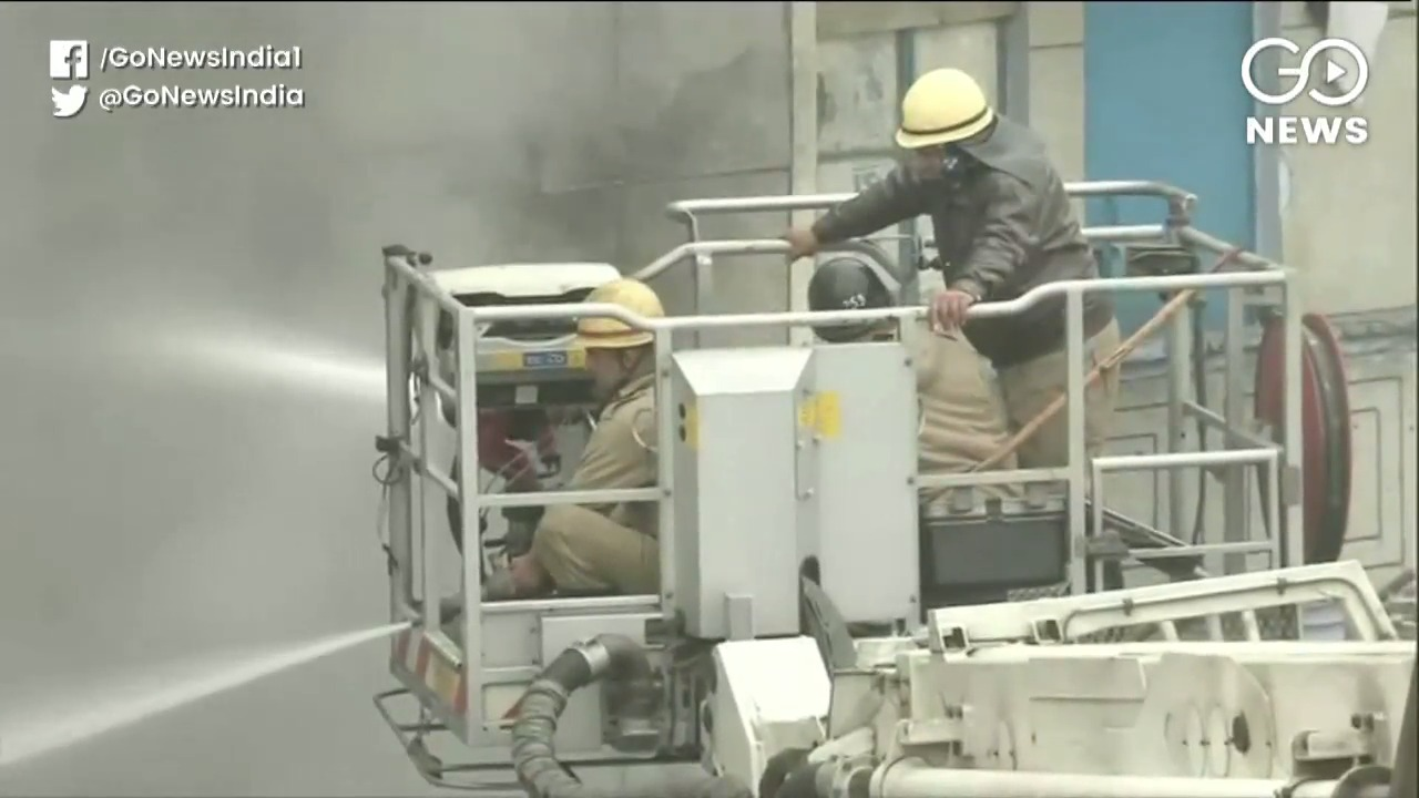 Delhi: Fire Breaks Out At Narela Industrial Area