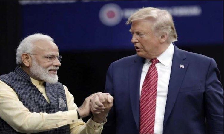 Is Trump coming to India for the vote of Indian di