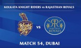 IPL 2020: Kolkata Knight Riders vs Rajasthan Royal