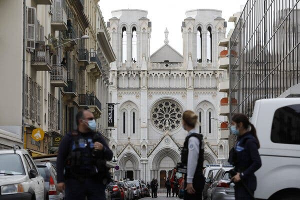 France: Three killed in Nice knife attack