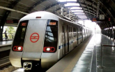 Metro service started in many cities including Del