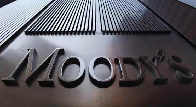 MOODY'S DOWNGRADES INDIA'S OUTLOOK TO NEGATIVE FRO