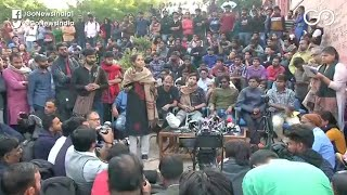 JNU Students Accuse Delhi Police Of Molesting Wome