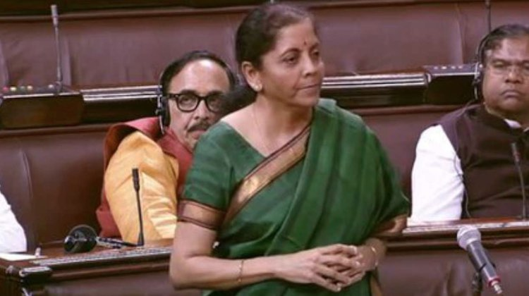 Finance Minister Nirmala Sitharaman said in the Ra