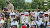 Opposition protests in front of Parliament, said -
