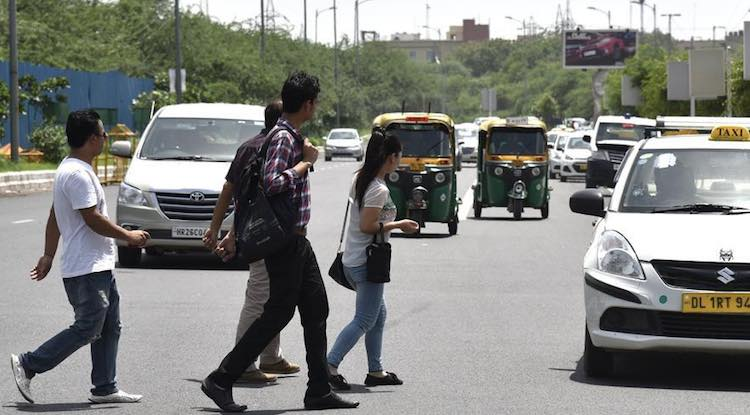 ROAD ACCIDENTS: EVERY DAY 62 PEDESTRIANS LOSE THEI