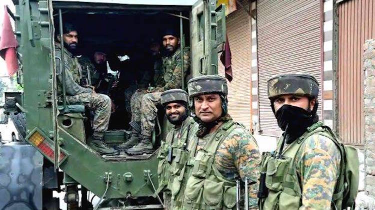 Decision to withdraw 10,000 troops from Jammu and