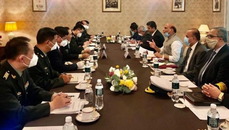 After meeting Defense Minister Rajnath Singh, Chin