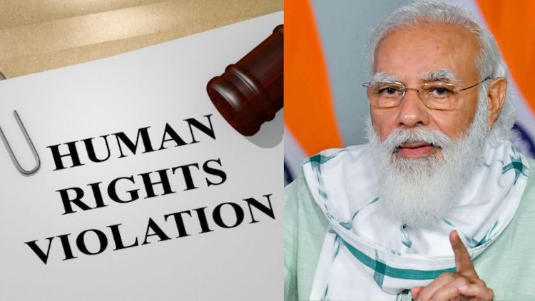 vaHuman rights violations and harassment of worker