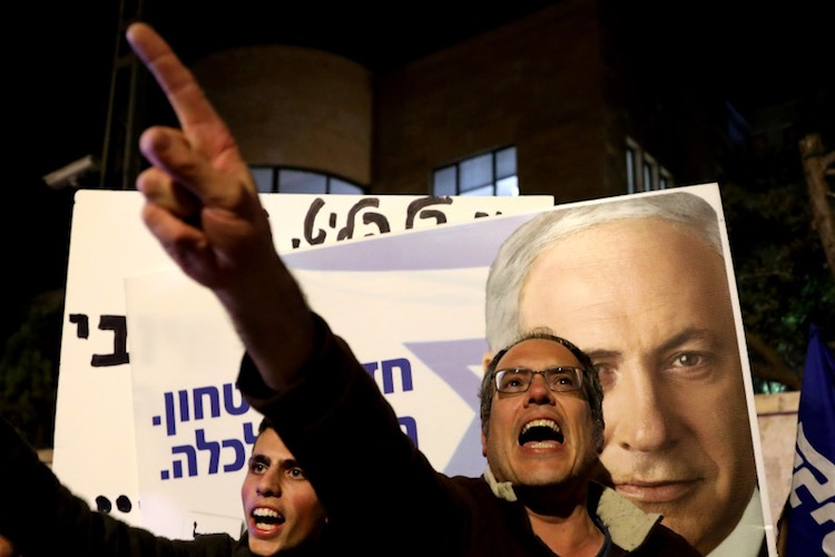 Political crisis in Israel, dissolution of parliam