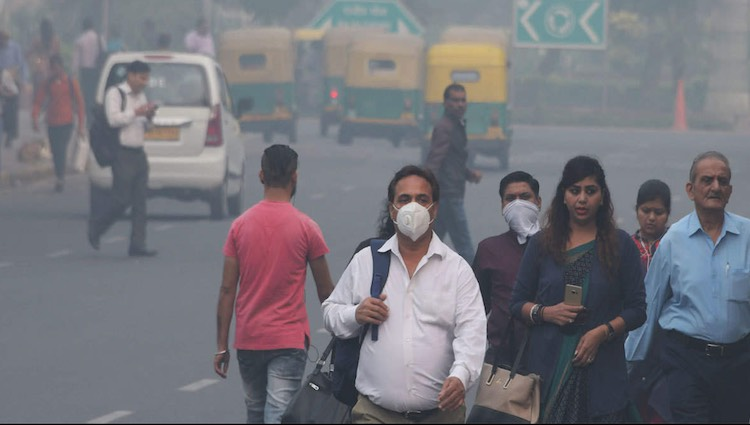 Pollution is dangerous in Delhi-NCR,AQI above 500