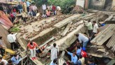 After Maharashtra, building collapses in Dewas, Ma