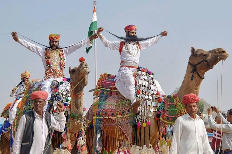 Rajasthan: Pushkar fair starts, Rajasthani culture